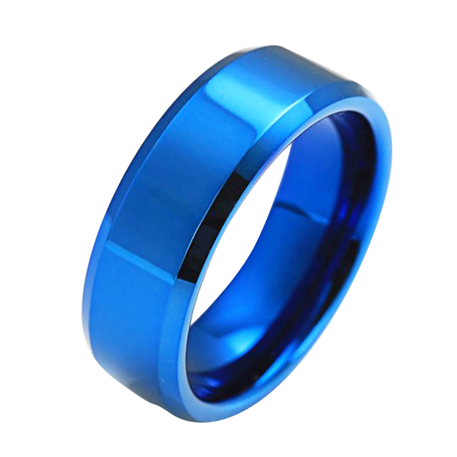 Stainless-Steel-Titanium-Ring-Men-amp-Women-Wedding-Engagement-Band-Cool-Size-6-13 thumbnail 14