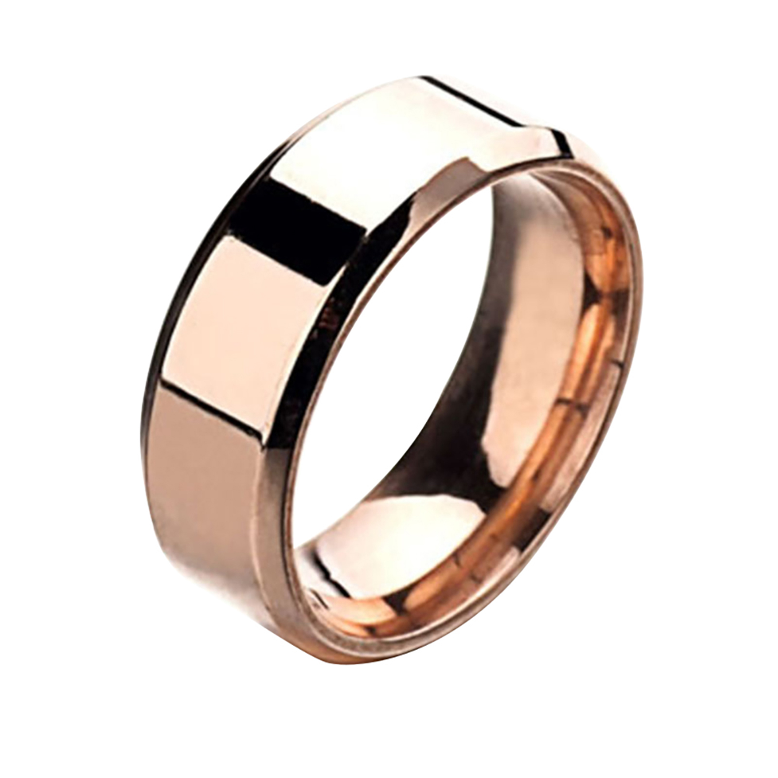 Stainless-Steel-Titanium-Ring-Men-amp-Women-Wedding-Engagement-Band-Cool-Size-6-13 thumbnail 17